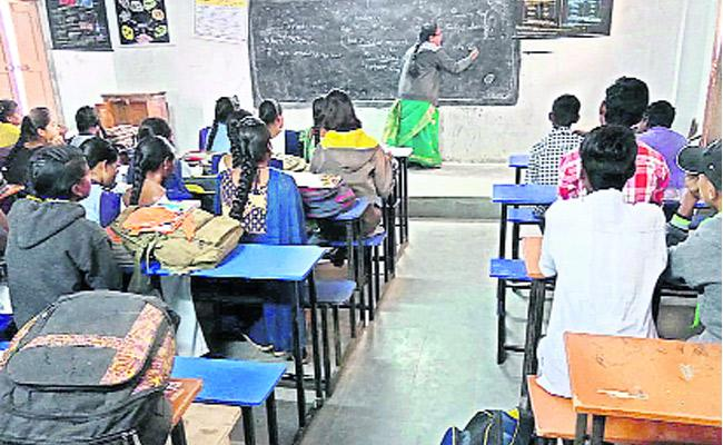 Government School Students Fearing Of Subjects - Sakshi