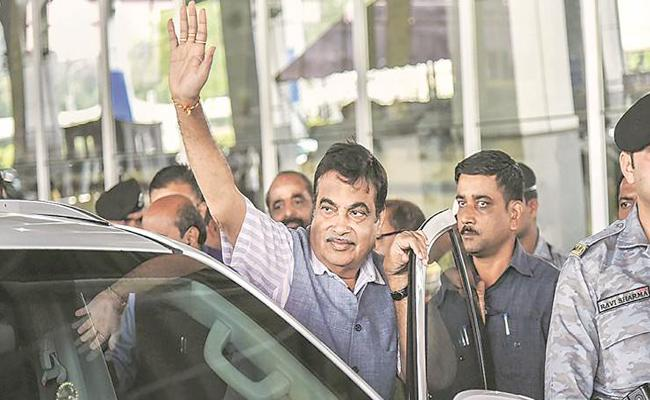 Nitin Gadkari Says Conspiracy Around Him - Sakshi