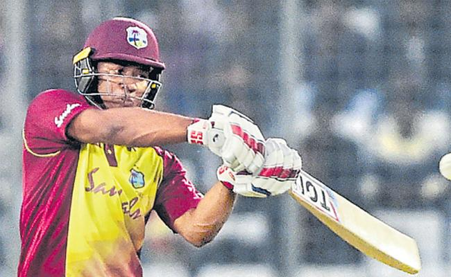 Evin Lewis and Keemo Paul star to help Windies to series win - Sakshi