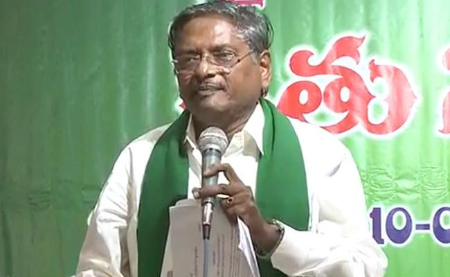 YSRCP Leader Nagi Reddy Fires On Chandrababu Naidu Over Farmers Issue - Sakshi