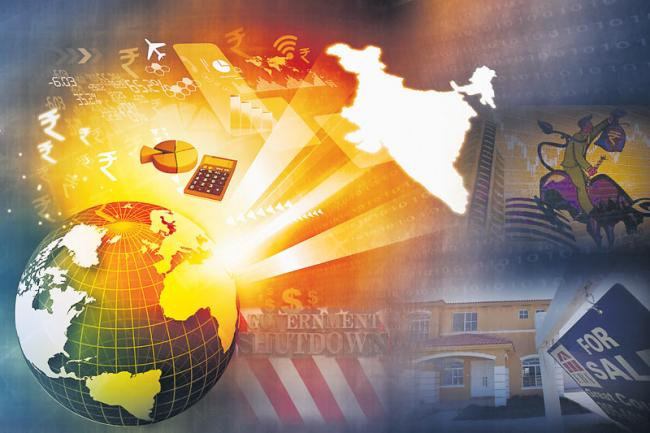 Federal Shutdown Compounds Risks for US Economy - Sakshi
