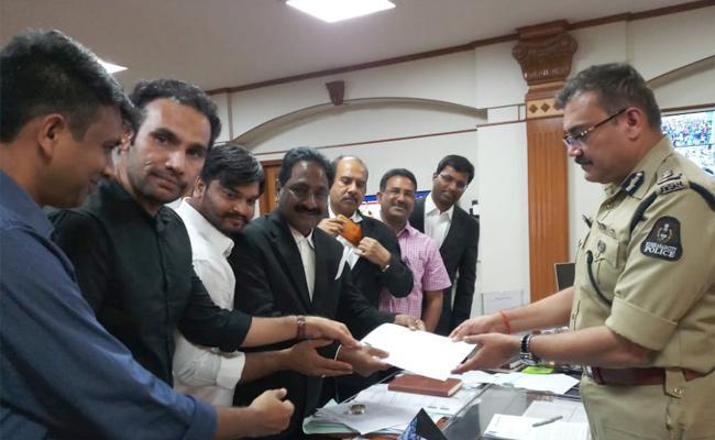 YSRCP Leader Sudhaker Reddy Lodge a Complaint Against Fake Calls - Sakshi