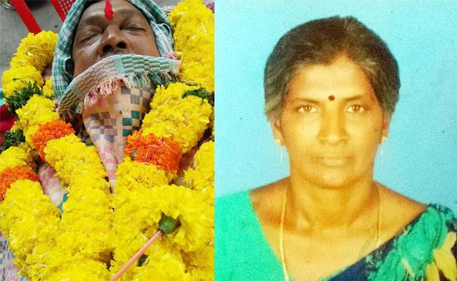 Father Died With Heart Stroke Listen Daughter Death News - Sakshi