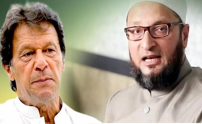 Asaduddin Owaisi Reaction On Imran Khan Comments - Sakshi