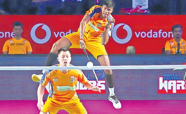 Mumbai Rockets and Ahmadabad Smash Masters Boni - Sakshi
