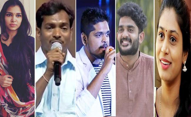 2018 Most Popular Tollywood Singers - Sakshi