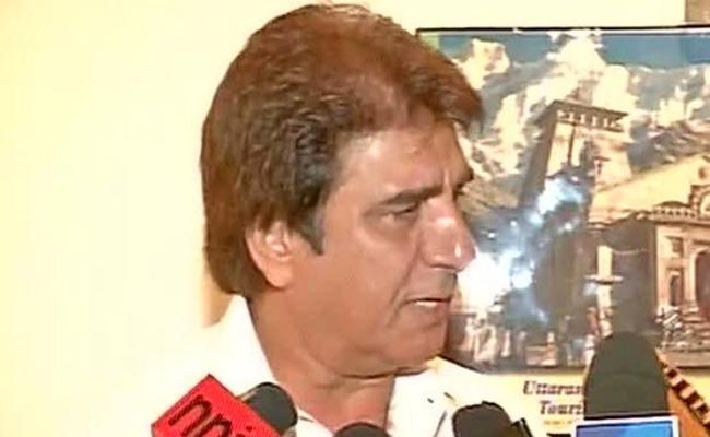 Raj Babbar Warned BJP Don't Trouble Hanuman too Much Or Your Lanka Will Be On Fire - Sakshi