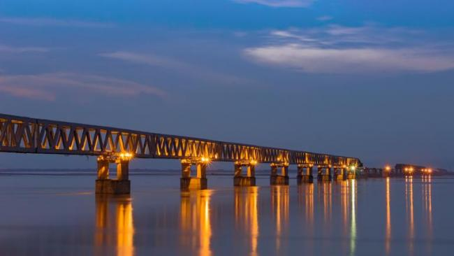 Bogibeel Bridge Inaugurated In Assam - Sakshi