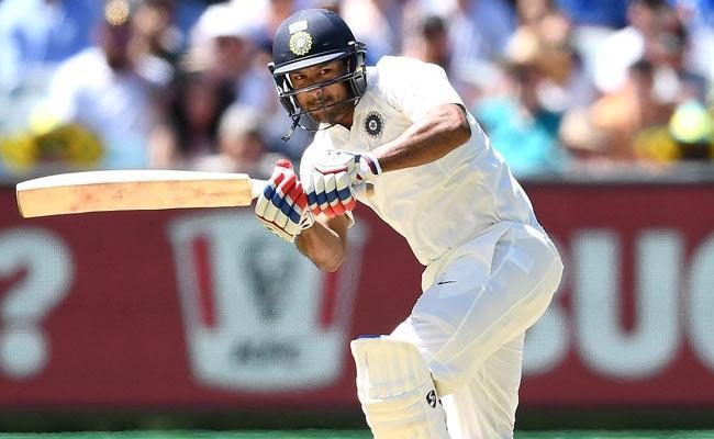 India Loss Mayank Agarwal Wicket In Boxing Day Test - Sakshi