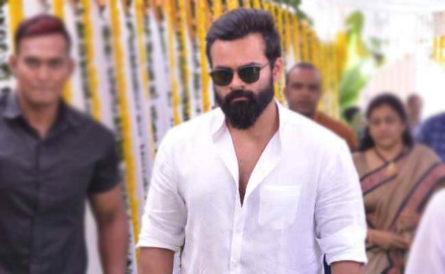 Sai Dharam Tej Next Movie With Bhagamathi Fame Ashok - Sakshi