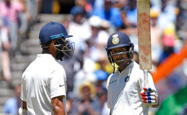 Australian commentator Dubious Laugh at Indian Cricketer Mayank - Sakshi