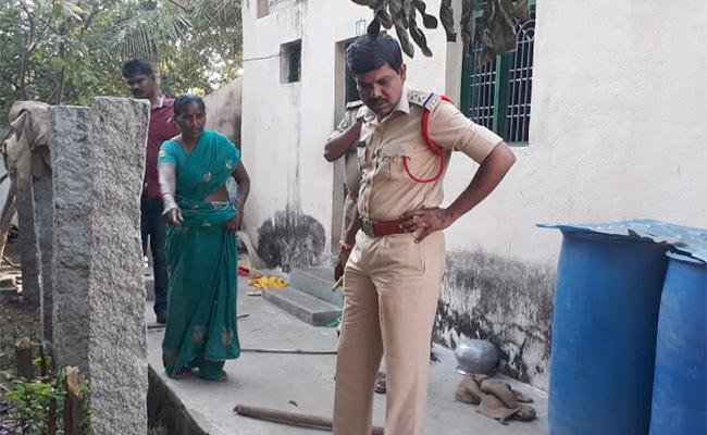 TDP Leader Attack on Teacher in Chittoor - Sakshi