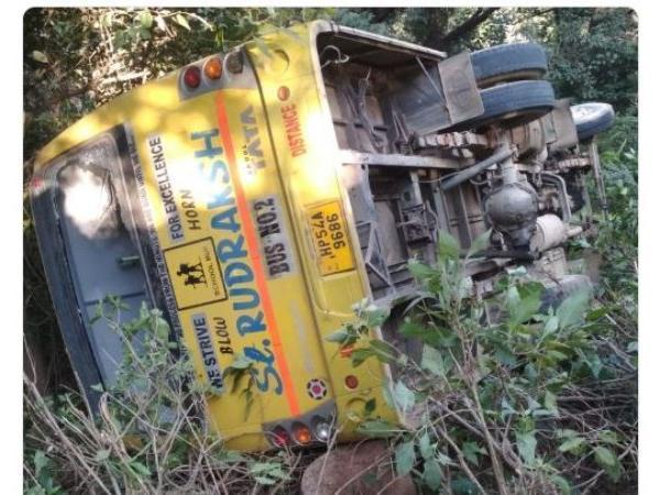 Bus Accident Took Place At Himachal Pradesh 35 Students Injured - Sakshi