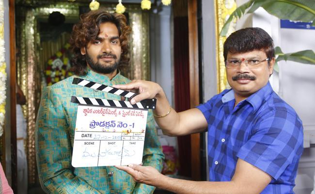 Rx 100 Fame Karthikeya New Movie Opening - Sakshi