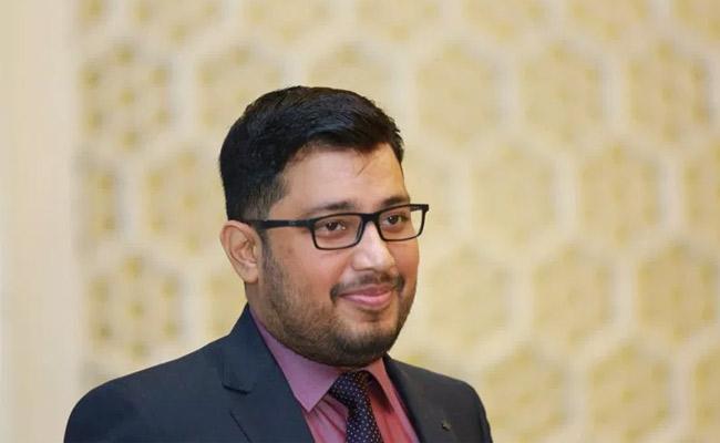 MIM MLA Jaffar Hussain son Maqsood Hussain passes away - Sakshi