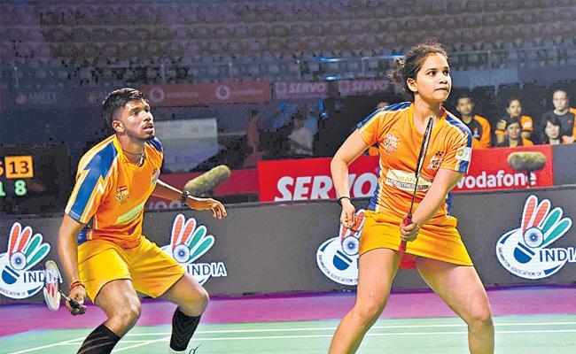 Premier Badminton League: Ahmedabad Smash Masters beat Delhi Dashers - Sakshi