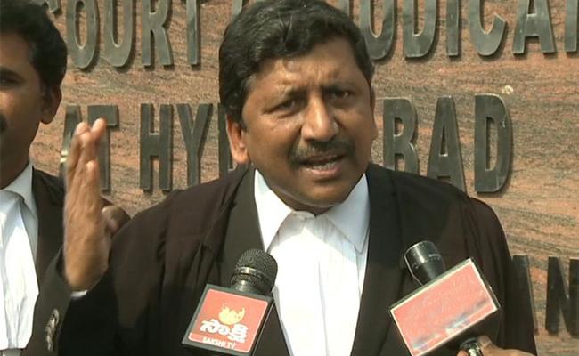 Andhra Pradesh Lawyers Protest Against Bifurcation Of High Court - Sakshi