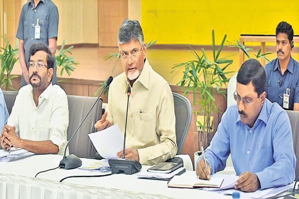 Farmers suicides with weakness says Chandrababu - Sakshi