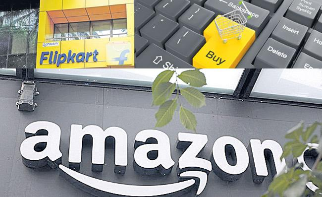 Flipkart Amazon hit as govt tightens e commerce norms - Sakshi