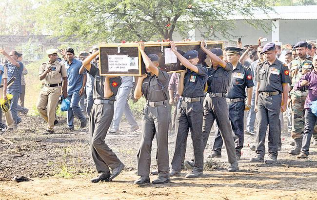 Funeral for Amrita jawan - Sakshi