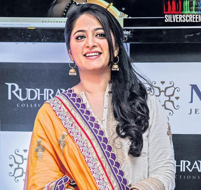 anushka new look in silence - Sakshi