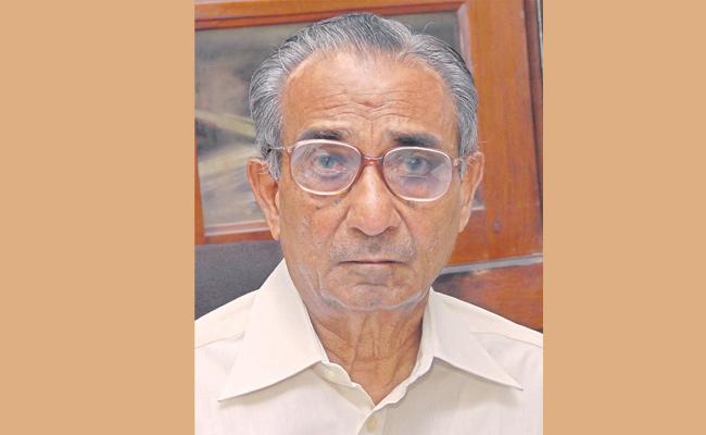 Padmanabh Reddy, a reputable reputation for judicial system - Sakshi