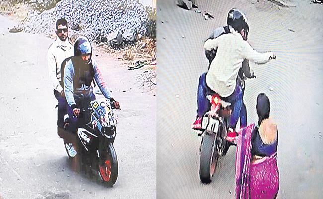 Chain Snatchers Hulchal In LB Nagar - Sakshi