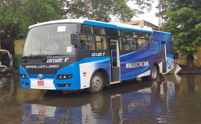 Electricity Bus Services in Tirumala - Sakshi