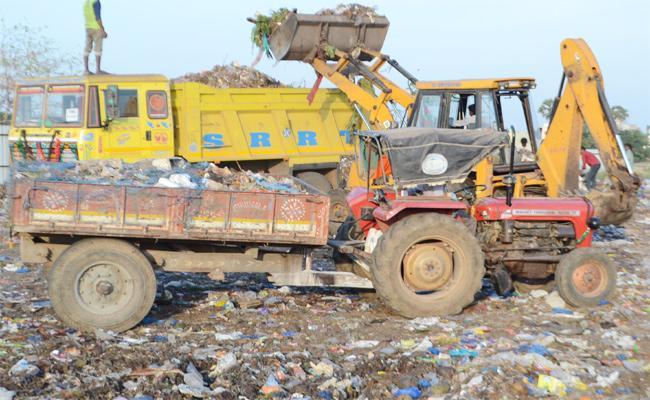Municipality Negligence in PSR Nellore - Sakshi