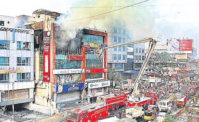 Power Department Checkings in Apartments And Buildings - Sakshi