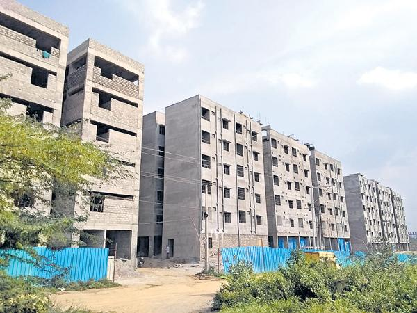 Double Bedroom Houses Distribution By March  - Sakshi