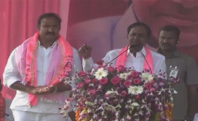 CM KCR Comments in nallagonda election Rallies - Sakshi