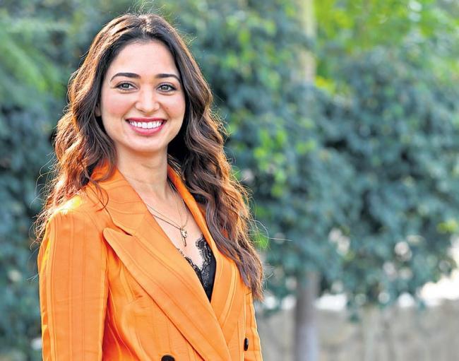 Actress Tamanna Interview about next enti - Sakshi