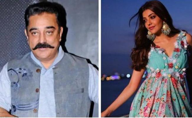 kajal Aggarwal In kamal Haasan And Shankar Indian 2 movie - Sakshi