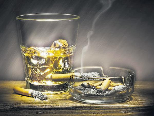 Stop Smoking and you will do stop Drinking Slowly - Sakshi