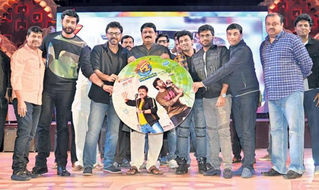 F2 Fun and Frustration Audio Launch - Sakshi