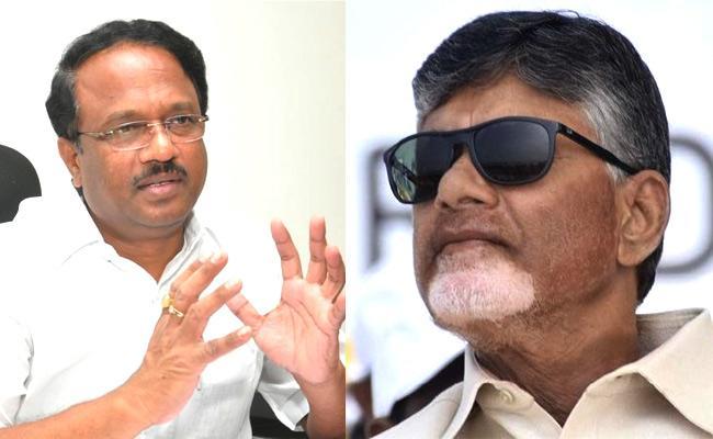Former Minister Laxma Reddy Fires On AP CM Chandrababu Naidu - Sakshi