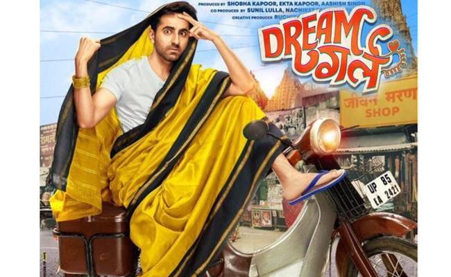 Bollywood Young Hero Ayushmann Khurrana in and as Dream Girl - Sakshi