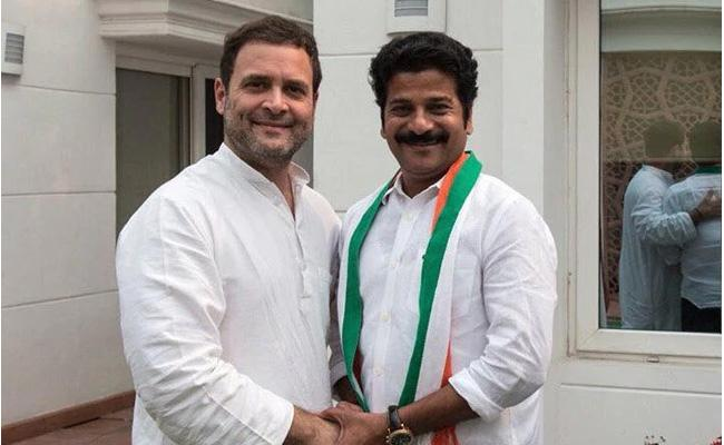 Rahul Gandhi Fires On TRS Over Revanth Reddy Arrest - Sakshi