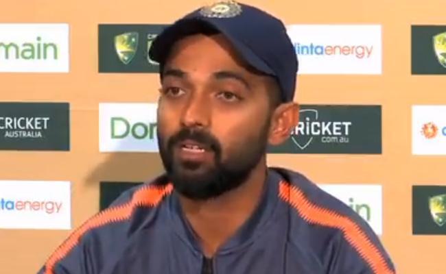 Ajinkya Rahane says australia is favourite To Win The Series - Sakshi