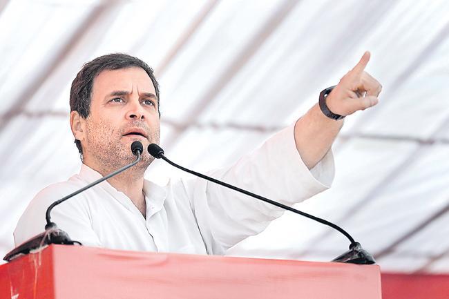 Rahul Gandhi attacks PM Narendra Modi over Kurian Joseph claim - Sakshi