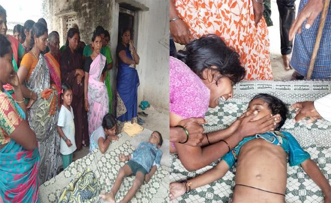 Child Death In Canal Guntur - Sakshi