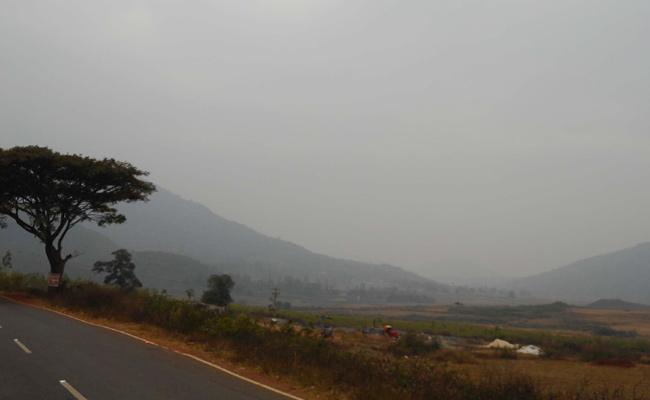 Temperature Down in Visakhapatnam - Sakshi