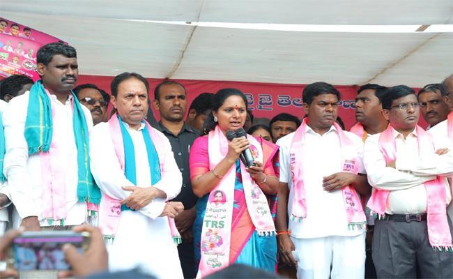 Telangana Number One In India Said By MP Kavitha - Sakshi