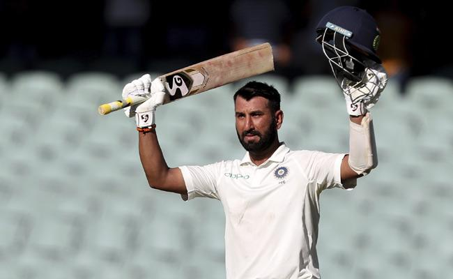 Pujara become Sixth Indian Cricketer hitting 100 on the opening day - Sakshi