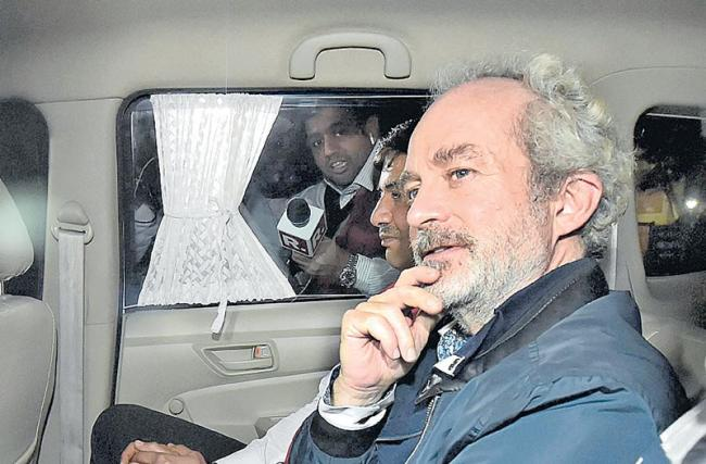Christian Michel Sent to Five-Day CBI Custody - Sakshi