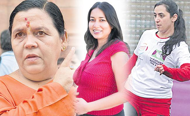 Womens empowerment:Uma Bharti Not To Contest 2019 Lok Sabha Polls - Sakshi