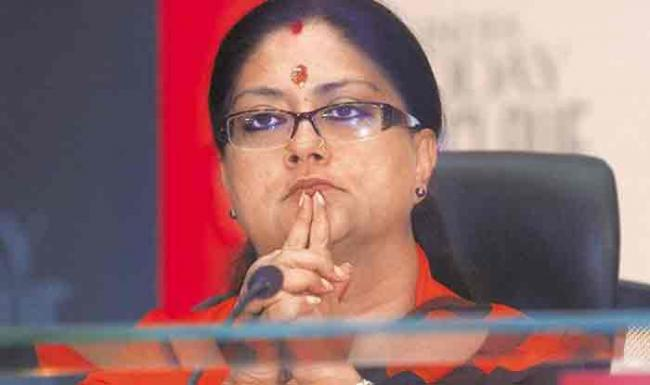 Sharad Yadav Says Vasundhara Raje Needs Rest - Sakshi
