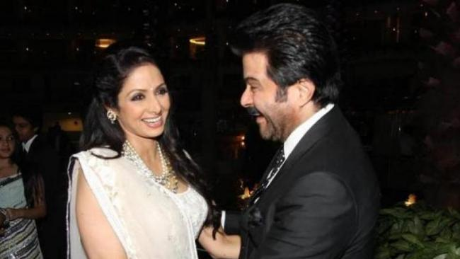 Anil Kapoor Reveals He Touch Sridevi Feet Every Time - Sakshi