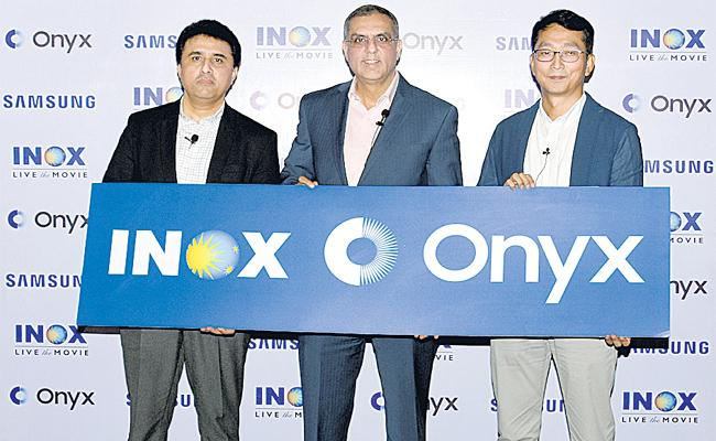 Samsung Partners with PVR to launch First Onyx Cinema - Sakshi